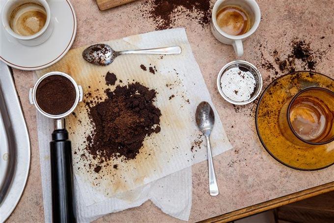 жмых от кофе как удобрение