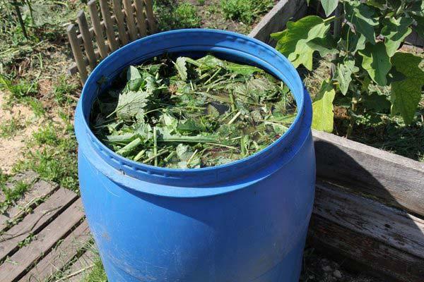 как приготовить удобрение из крапивы
