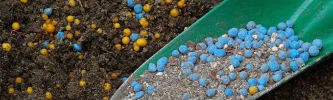 калийно фосфорные удобрения