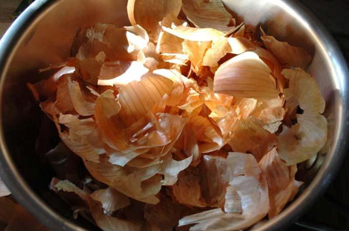 применение луковой шелухи на огороде