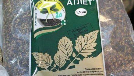 Атлет — стимулятор жизненного потенциала растений