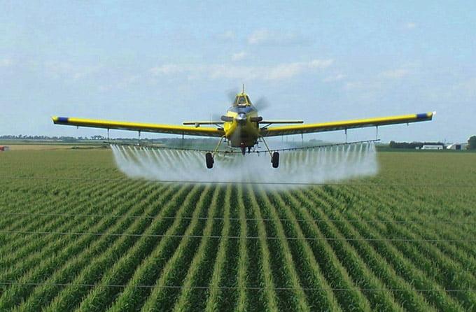 использование пестицидов